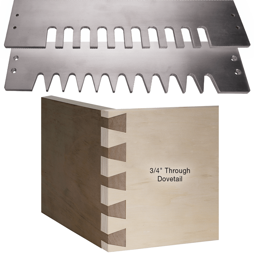 Through Dovetail Template Set for MLCS Dovetail Jig