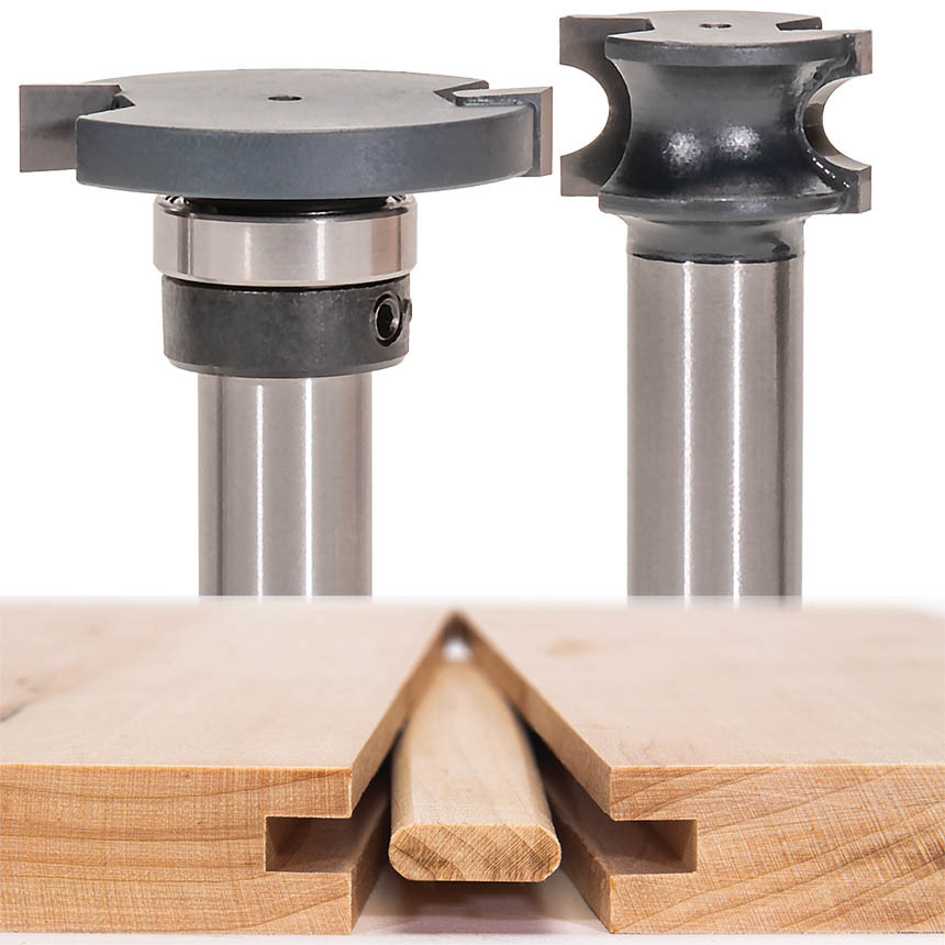 Two Piece Loose Tenon Flooring Joint Sets