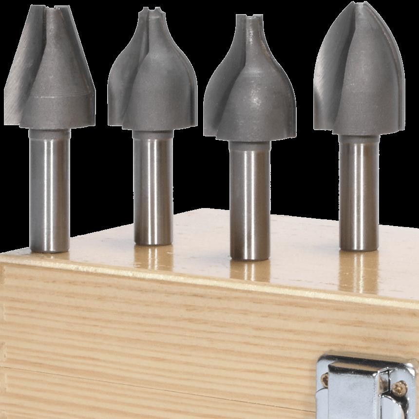 Vertical Raised Panel Router Bit Set