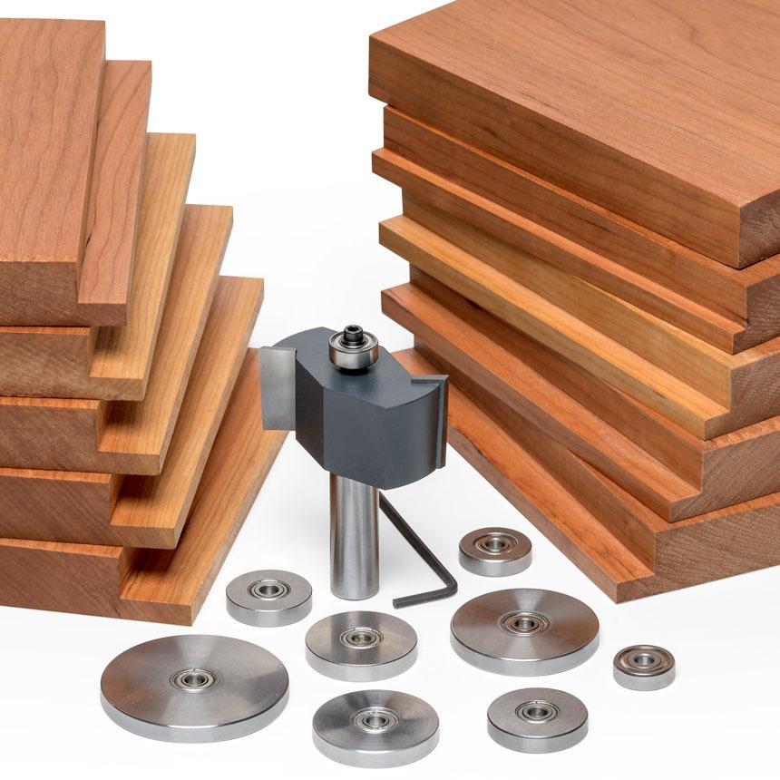 """11 Piece Rabbeting Kit 1/2"""" Shank"""