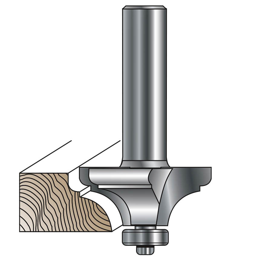 French Provincial Router Bit