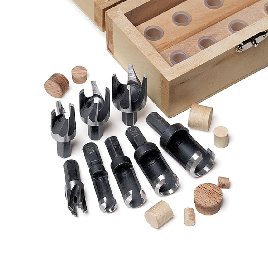 8 Piece Plug Cutter Set