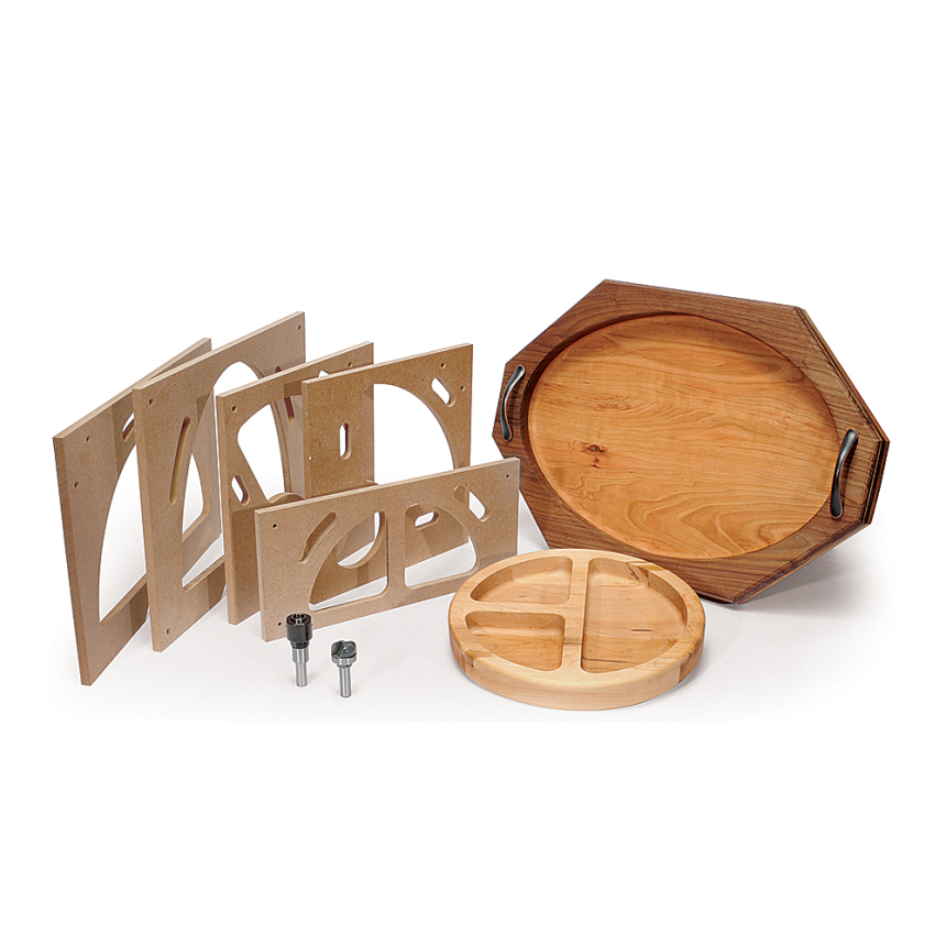 Bowl & Tray Template MDF Kit