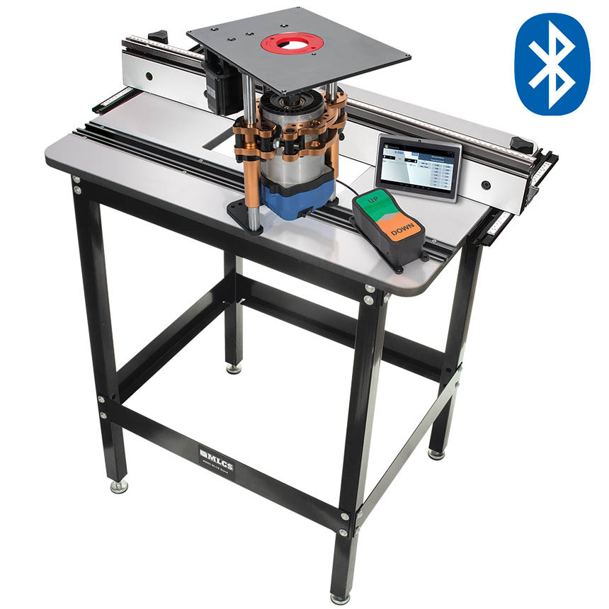 ULTIMATE PowerLift Pro Bluetooth Router Table System