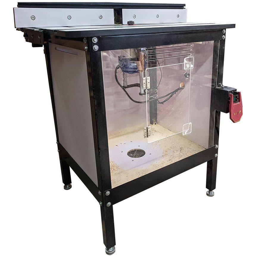 Router Table Dust Eliminator