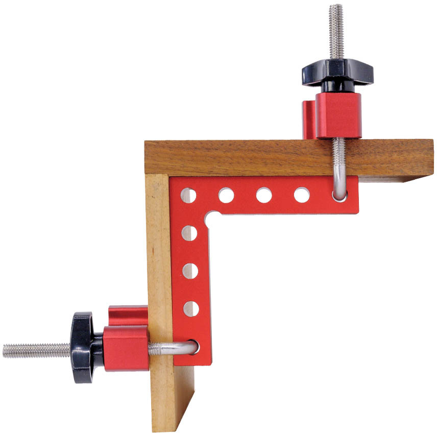 Corner Clamping Square Aluminum 90° with Clamps