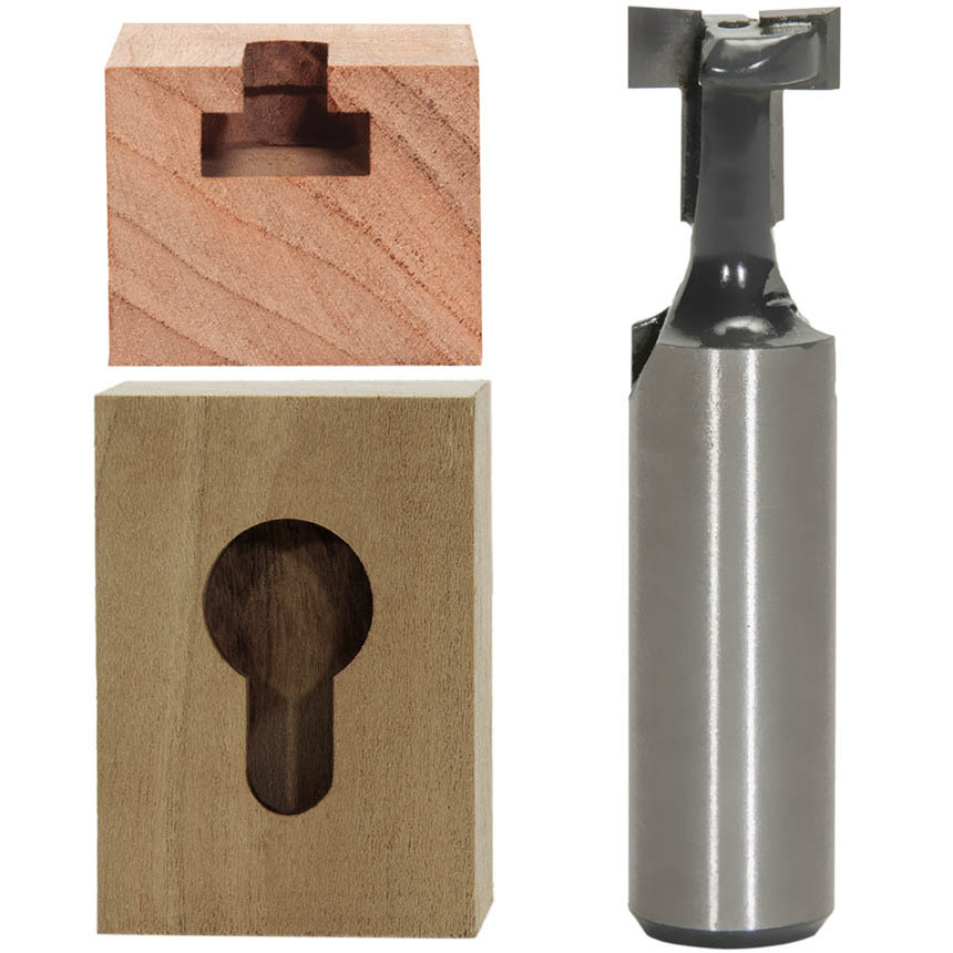 Key Hole Cutting Router Bits
