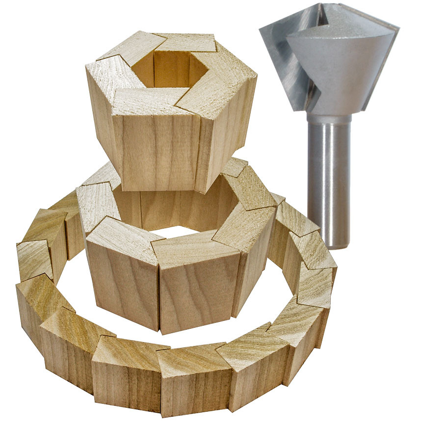 Multi-Sided Glue Joint Router Bits