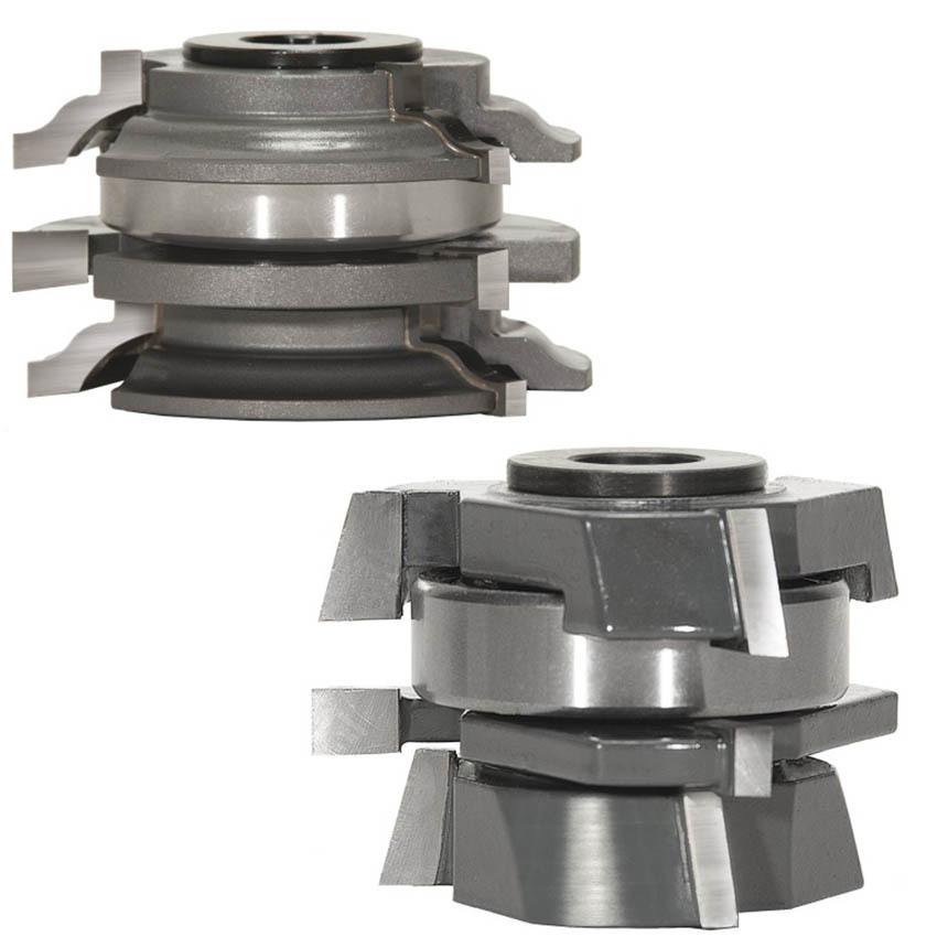 Stacked Rail & Stile Shaper Cutter Sets