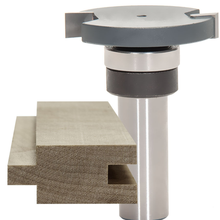 Top Mounted Bearing Slot Cutter Router Bits
