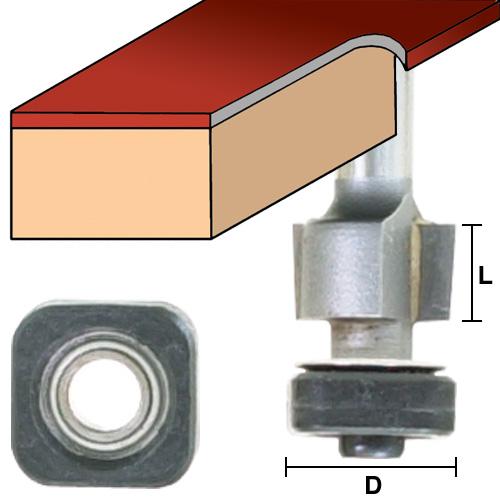 Laminate Bits with Square Bearings