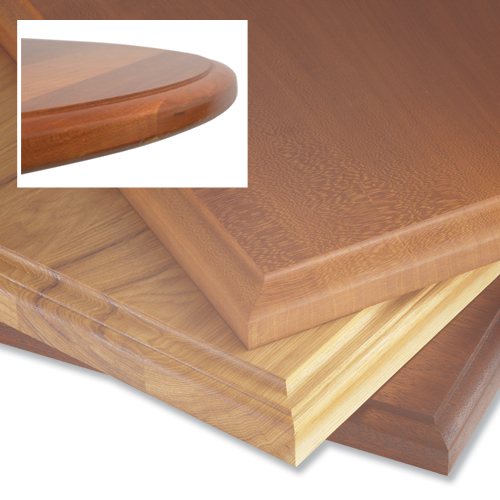 Combination Door Edge, Table Top And Lid Profiles