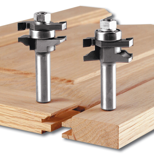 2-Piece Stile And Rail Bit Sets