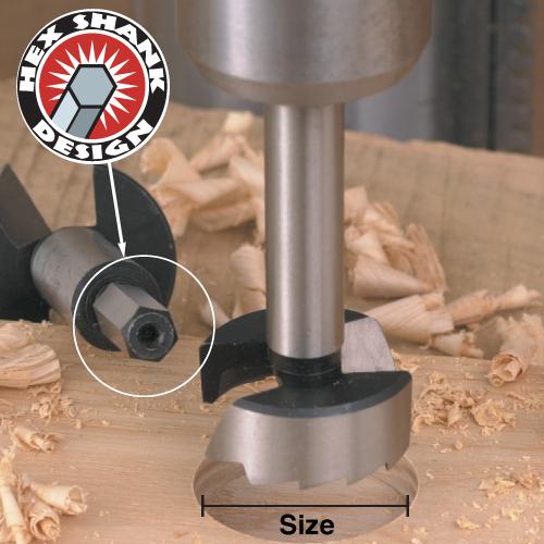 Steel Forstner Bits