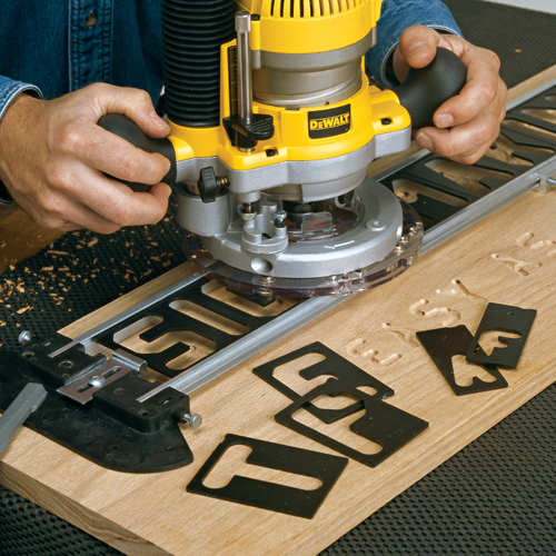 Router sign pro signmaking template kit accessories for Router lettering templates