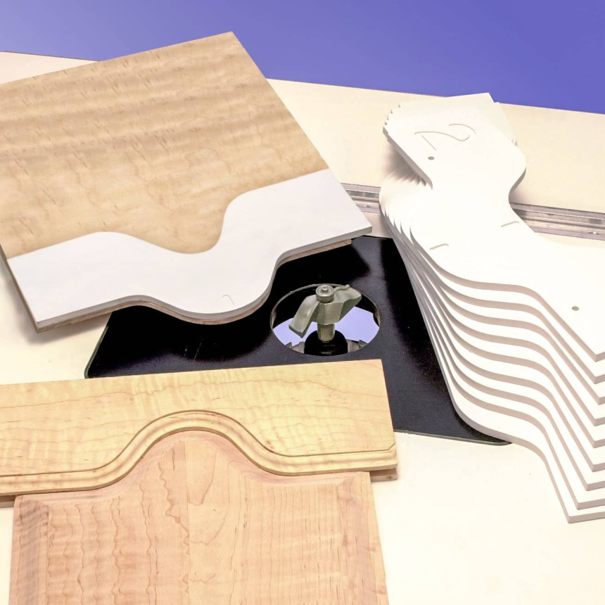 10-Piece Combination Arched Door Template Sets