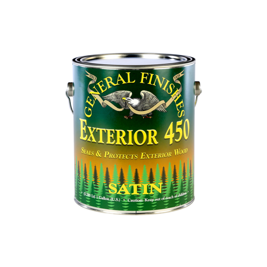 Exterior 450 Water-Based Topcoats