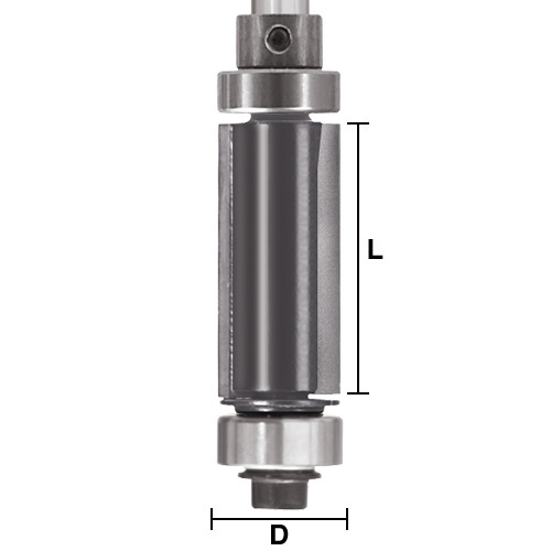 Top and Bottom Bearing Pattern / Flush Trim Bits