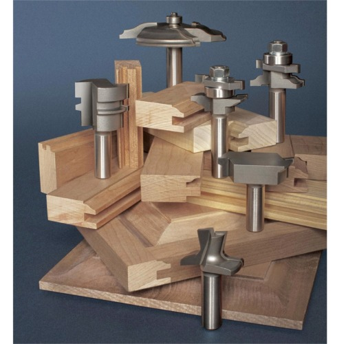 6 Piece Raised Panel Door Cabinet Sets Router Bit Sets