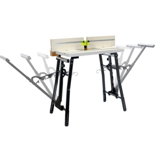 Router Table Top and Adjustable Roller Stand