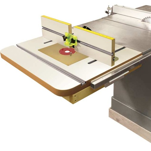 XM EXTENSION Router Table Top and Fence