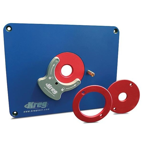 Router Table Insert Plate & Accessories