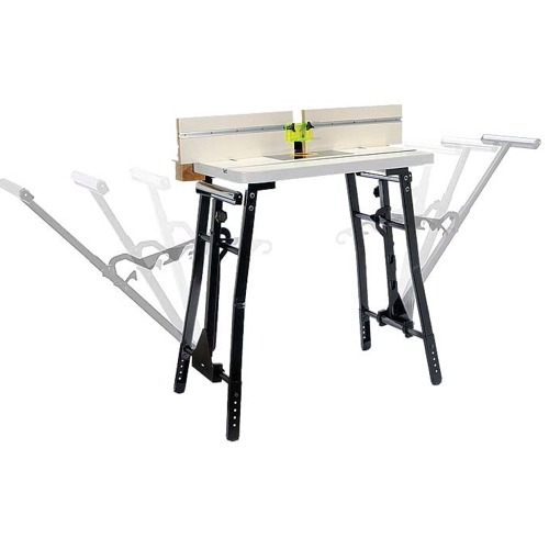 Adjustable Roller Support Router Table Tool Stand