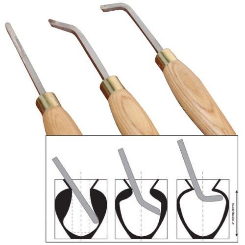 HSS Mini Hollowing Tool Set