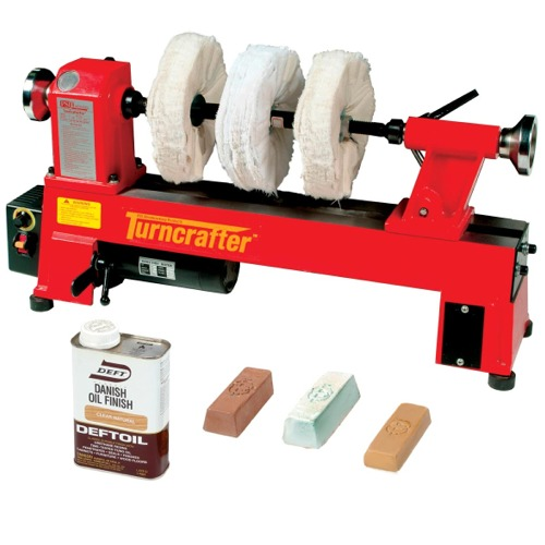 3-Step Lathe Polishing System