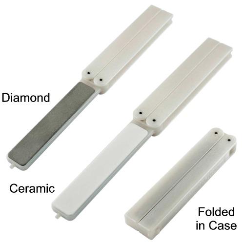 EZE-FOLD Double Sided Ceramic/ Diamond Sharpener