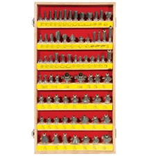 70 Piece Master Router Bit Sets