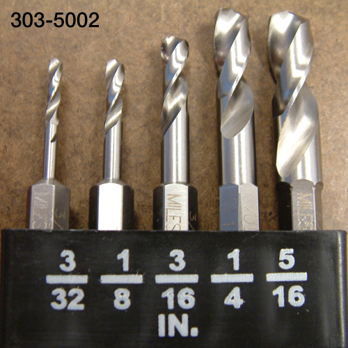 Stubby Drill Bits