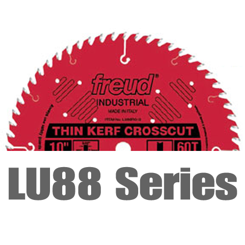 Thin Kerf Fine Finish Crosscut Table Saw Blades