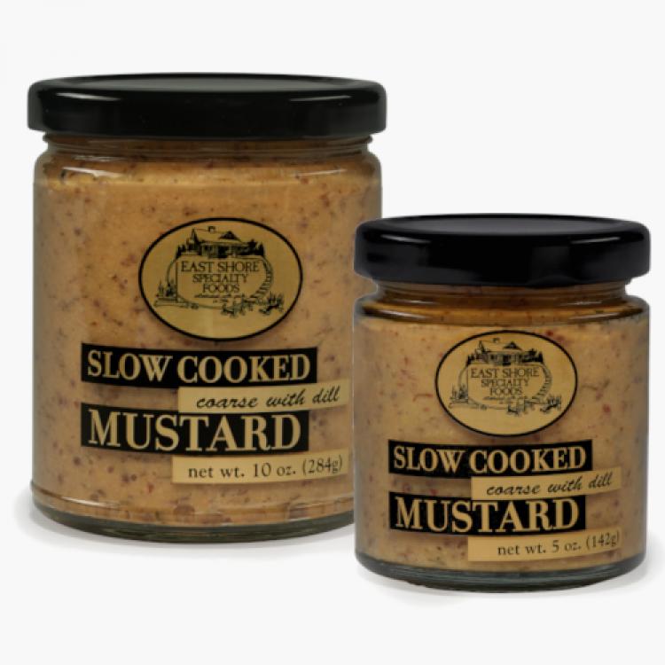 East Shore Coarse Dill Mustard 5oz