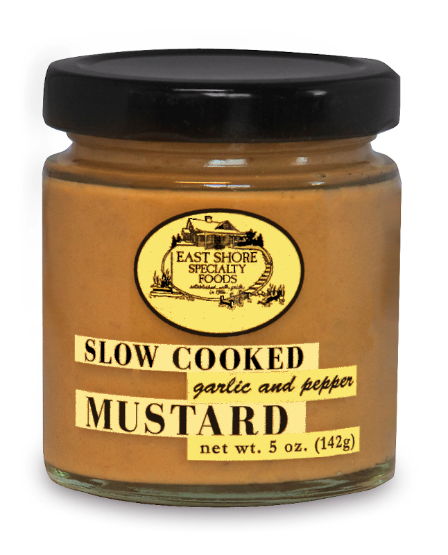 Garlic and Pepper Dipping Mustard