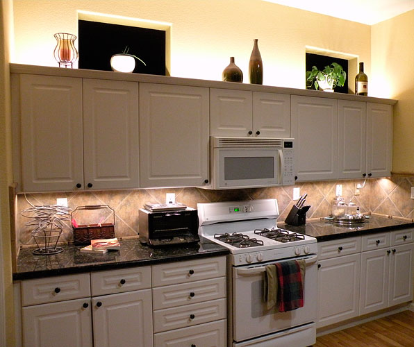 above cabinet led lighting using led modules diy led projects rh ecolocityled com