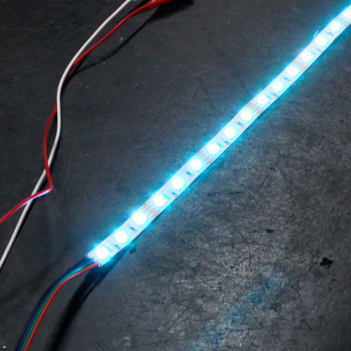 Led tutorials soldering wire to rgb led strip lights test solder aloadofball Choice Image