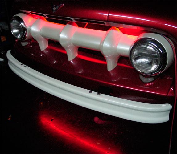 Automobile applications using led lighting led strip light car floorboard led red strip aloadofball Images