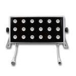 "Bright Star 12"" x 6"" LED Wall Washer 3 in 1 RGB - 50W, 24VDC"
