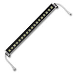 "Bright Star 20"" x 2"" Warm White LED Wall Washer - 22W, 24VDC"