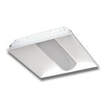 LED Troffer Light Fixture 5000K White 40W, 2ft x 2ft, 100-277AC