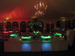 RGB LED Lights for a catering event