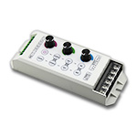 Three Knob RGB LED Dimmer & Controller, 5-24V 8A/CH