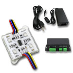 25 Color Star Digital 4 Chip RGB LED Module Kit - DMX Addressable 12VDC