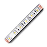 "Ribbon Star 50/50, 4 in 1 Waterproof RGBWW LED Strip Light - ETL 24VDC - 118"" (3m)"