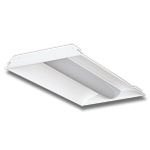 LED Troffer Light Fixture 5000K White 50W, 4ft x 2ft, 100-277AC