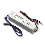 Mean Well Waterproof LED Power Supply, 60W - 24VDC