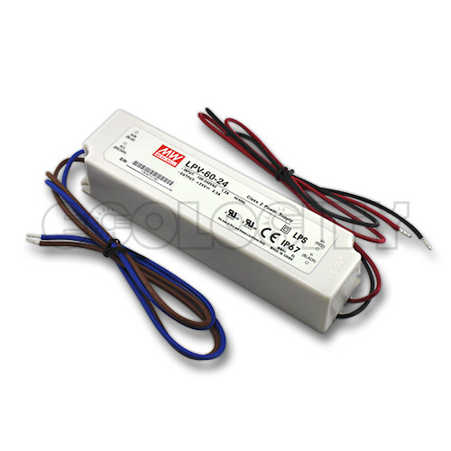 Waterproof 60W 24VDC Power Supply