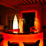 Penthouse Lighting, red