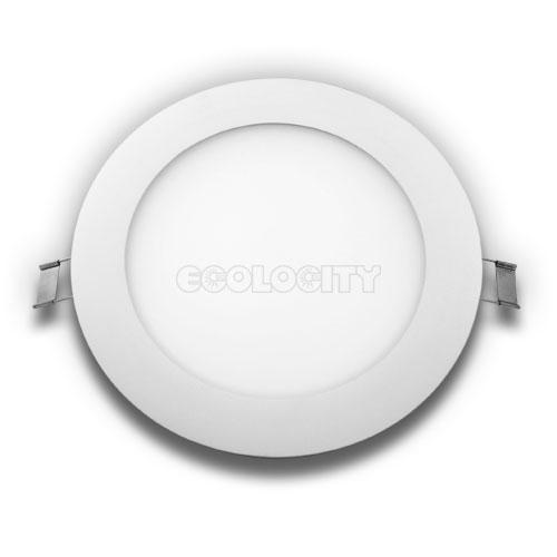 LED Panel Downlight Round 8Watt Warm White AC-TRIAC Dimmable